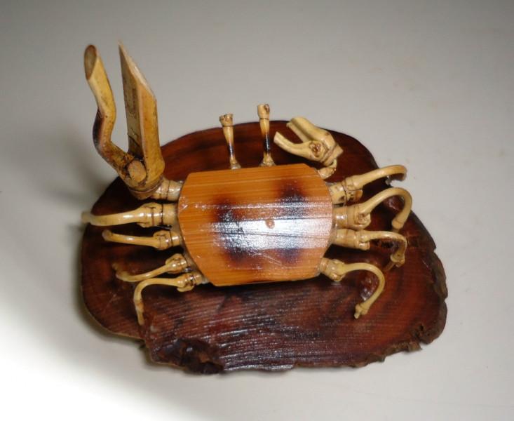 竹螃蟹Diy