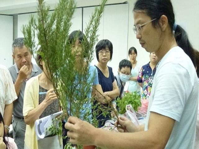 臺北市市民講座-城市農園教學系列課程開課囉!