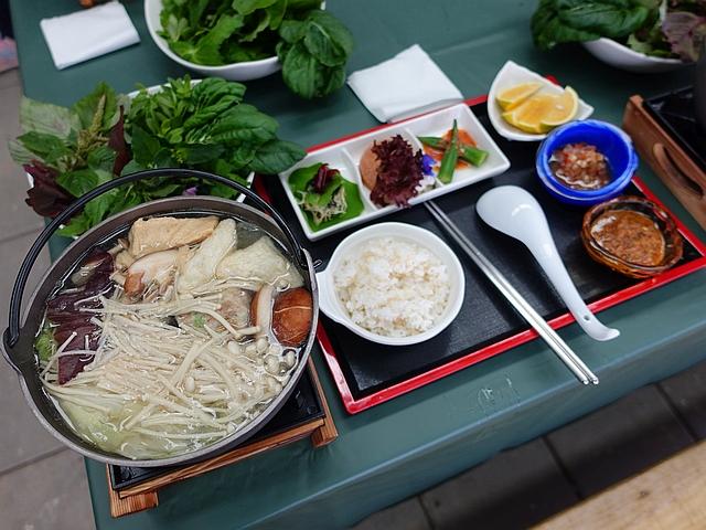 採食在地野菜,煮出養生蔬食火鍋