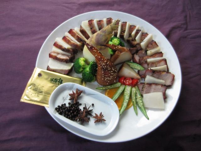 台北市內湖區農會綠竹筍料理
